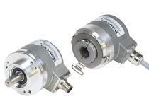 Absolute rotary encoder / blind-shaft / multi-turn