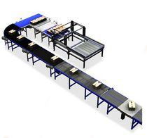 Roller conveyor / for pallets / horizontal / transport