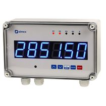 Non-contact tachometer / panel-mount / with LED display