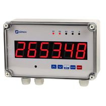 Positive displacement counter / digital / electronic / panel-mount
