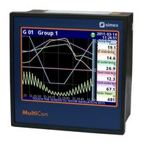 Current data-logger / Modbus / with screen / multi-channel