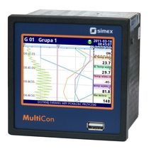 Universal data-logger / Ethernet / with touch screen / programmable
