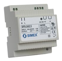 AC/DC power supply / DIN rail / compact
