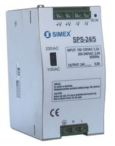 AC/DC power supply / DIN rail / compact / switching