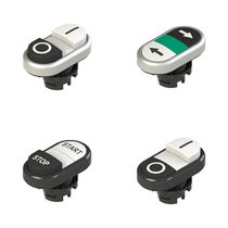 Double push-button switch / flush-mounted / IP67 / IP69K