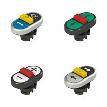 Flush-mount push-button switch / IP69K / IP67