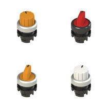 Selector knob push-button switch