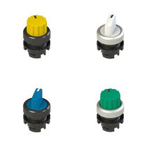 Selector knob push-button switch / illuminated / IP67 / IP69K