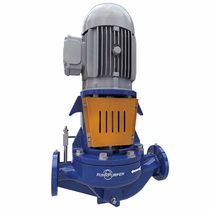 Chemical pump / electric / centrifugal / compact