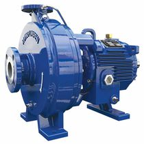 Chemical pump / electric / centrifugal / central aspiration