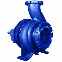 Chemical pump / centrifugal / single-stage / horizontal mount