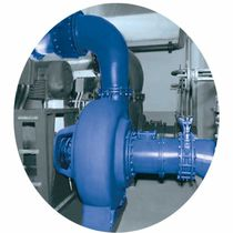 Wastewater pump / electric / centrifugal / single-stage