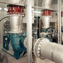Wastewater pump / electric / impeller / single-stage