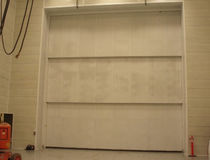 Roll-up doors / metal / indoor / industrial