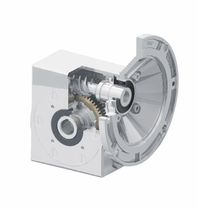 Worm gear reducer / orthogonal / stainless steel / for valves