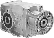Helical gear reducer / orthogonal / precision / industrial