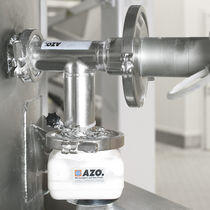 Continuous-flow sampling system / compact