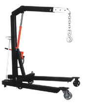 Mobile workshop crane / hydraulic / mobile