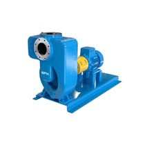 Wastewater pump / electric / centrifugal / self-priming