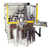 End fitting forming machine / for tubes