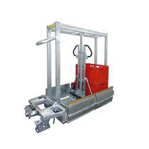 Transport cart / galvanized steel / container