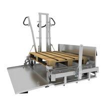 Transport cart / low-loader / for transport dollies