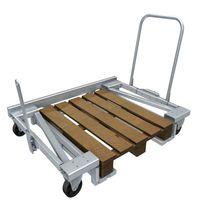 Handling cart / steel / pallet