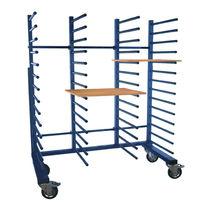 Transport cart / steel / portal / anti-static