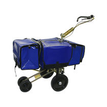 Mail sorting and distribution cart / steel / container