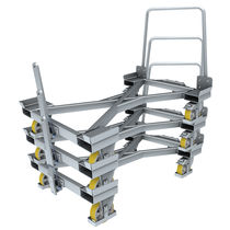Loading cart / galvanized steel / two-sided loading / stackable