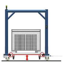 Portal cart / for Euro containers / pallet box / pallet