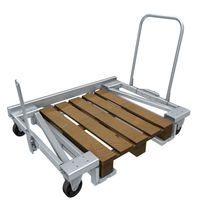 Transport cart / pallet / steel