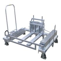 Taxi cart / handling / for transport equipment with swivel casters / multipurpose