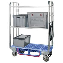 Mail sorting and distribution cart / transport / steel / plastic