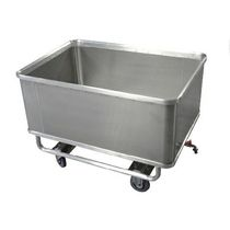 Metal crate / for liquids / swing / waterproof
