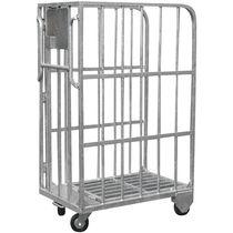 Transport cart / for heavy loads / steel / nesting