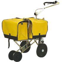 Mail sorting and distribution cart / metal / multipurpose