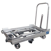 Steel cart / platform / pallet box / for Euro containers