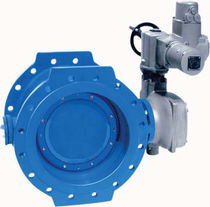 Butterfly valve / with handwheel / distribution / for water
