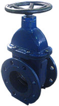 Gate valve / with handwheel / distribution / for wastewater