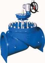 Globe valve / with handwheel / regulating / for water