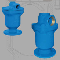 Pneumatic-operated valve / distribution / for water / 2/3-way