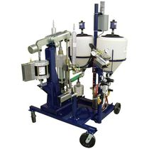 Coating mixer-dispenser / resin / screw / epoxy