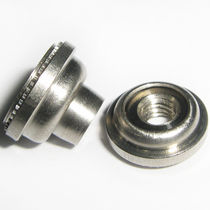 Crimp nut / floating / stainless steel