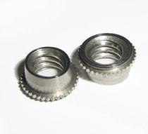 Crimp nut / stainless steel / miniature