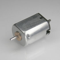 DC motor / brushed / flat / micro