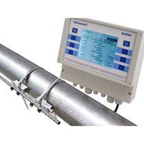 Ultrasonic flow meter / for liquids / clamp-on / industrial