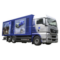Diesel engine cleaner / truck-mounted / high-pressure