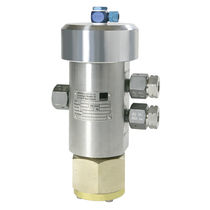 Pneumatically-operated valve / switching