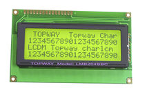 LCD display modules / alphanumeric / LED-backlit